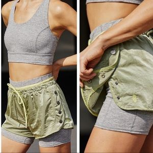 Free people movement opal shorty shorts